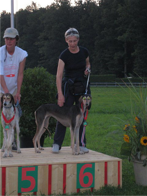 Bonny at the European LC Championship in Switzerland