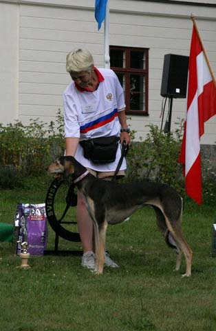 Bonny 4th at the European LC Championship in Sweden
